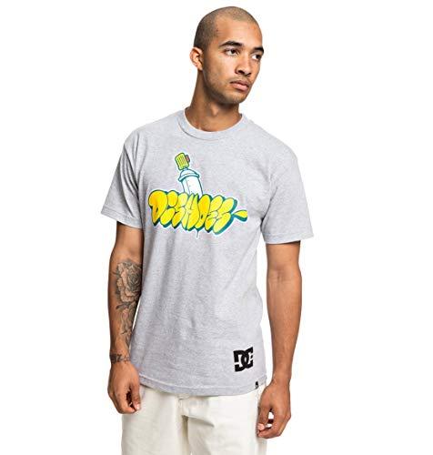shirt Dc Noir Heather T Throwy Shoes Pour Homme Adyzt04529 Grey qqv1twxT