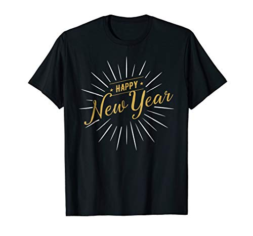 Happy New Year 2019 T-shirt for New Years Eve Party