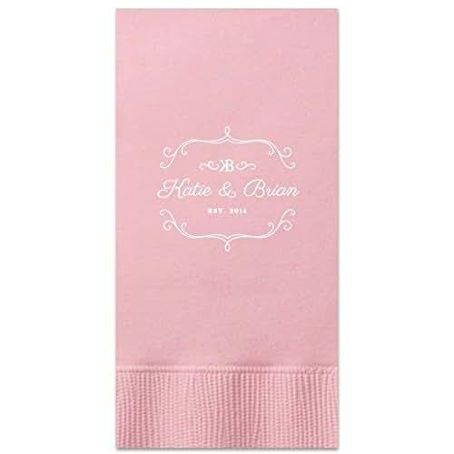 Amazon.com: Personalized Wedding Guest Towels Custom