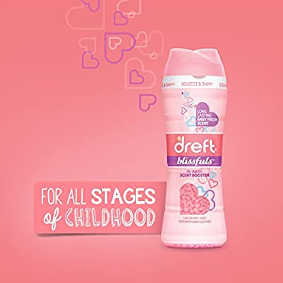 Dreft Blissfuls Baby Fresh In-Wash Scent Booster Beads, 285 g/10.0 Oz, Count of 1