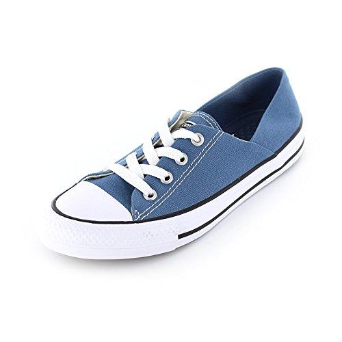 Converse Damen Chuck Taylor All Star Coral Sneaker Jeansblau