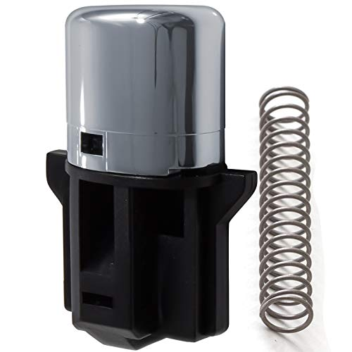 OxGord Shifter Shift Button Knob Repair Kit with Spring for 03-06 Honda Accord Vehicles - Push Knob-Replaces- 54132-SDA-A81