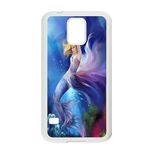 C-Y-F-CASE DIY The Little Mermaid Pattern Phone Case For SamSung Galaxy S5 i9600