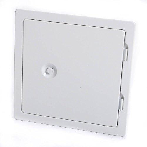 Kamint/ür verzinkt und pulverbeschichtet Nennma/ß: 140 x 200 mm Au/ßenma/ß: 230 x 290 mm wei/ß RAL 9016