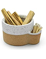 Bursera Terracotta Ceramic Bowl, Tree Planted with Every Order, Smudging Bowl for Sage, Palo Santo, Form for Candles, Candle Container, Smudge Bowl
