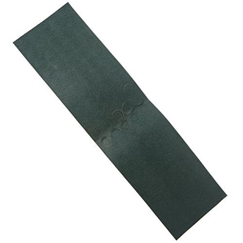 HOWWOH 100 Pieces/Lot 18650 Battery Anode Hollow Insulation Pad Pointed Barley Paper Gasket