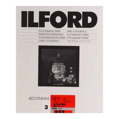 Ilford Ilfospeed RCデラックスGraded用紙( 8 x 10インチ、グレード3、パール、250シート)   B00009XVED