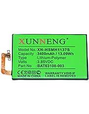 XUNNENG Battery for Part NO. BlackBerry BAT-63108-003, BAT63108-003