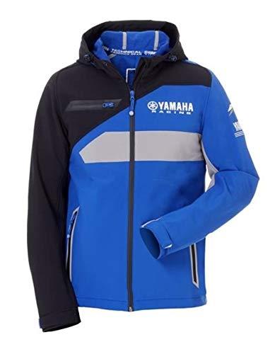 Yamaha MotoGP Paddock Blue 2018 Herren Jacke Softshell blau