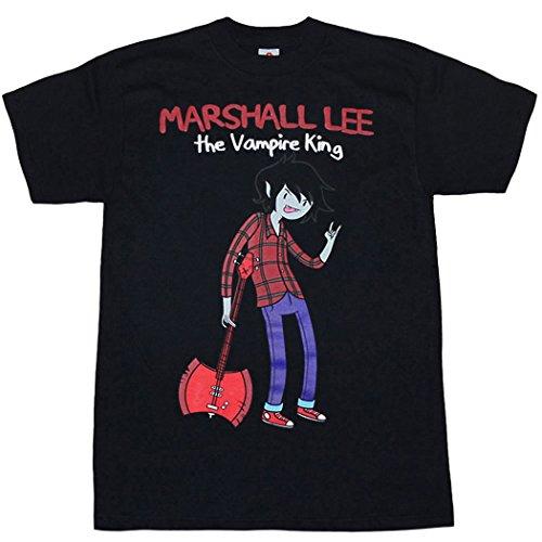 Adventure Time Marshall Lee Vampire King T-Shirt-X-Large