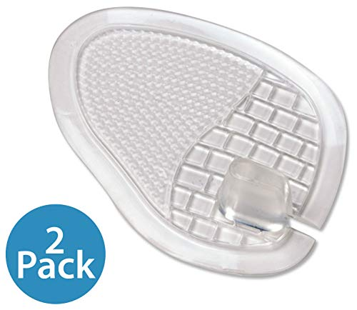 NatraCure All Gel Sandal Ball of Foot Cushion w/Thong Protectors - (1 Pair)