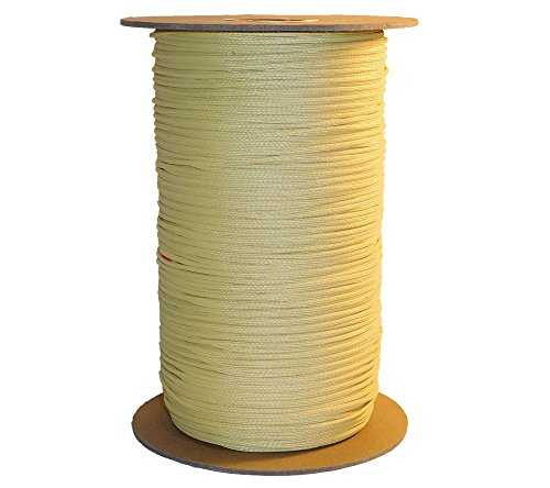 5col Kevlar Parachute Cord, MIL-C-87129A Type 5 (500 lb Min Break Strength) (1500 ft. Spool) by 5col Survival Supply (Image #2)