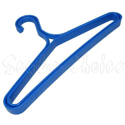 Scuba Choice Scuba Diving Heavy Duty BCD BC Wetsuit Drysuit Hanger, Blue