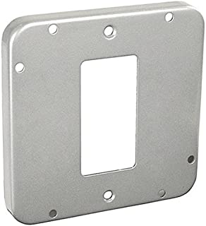 Hubbell 857 Surface Cover 4-11//16 Square Steel