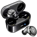 Wireless Earbuds in-Ear Piece HandsFree Wireless Earpiece V5.0 with Mic for Business/Office/Driving,Compatible iPhone