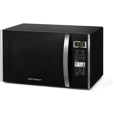 Emerson 1.5 cu ft 1000W Microwave Oven with Convection Grill