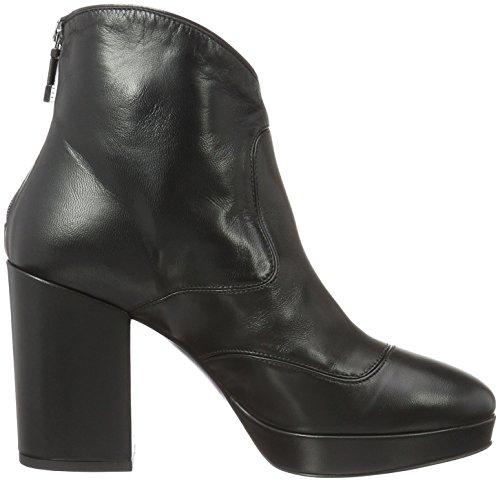 Alberto Dames Fermani Chaussures Mode Femme Bottes Courtes Les Arbres De Noir (noir)