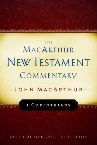 MACARTHUR NEW TESTAMENT...1 CORINTHIANS