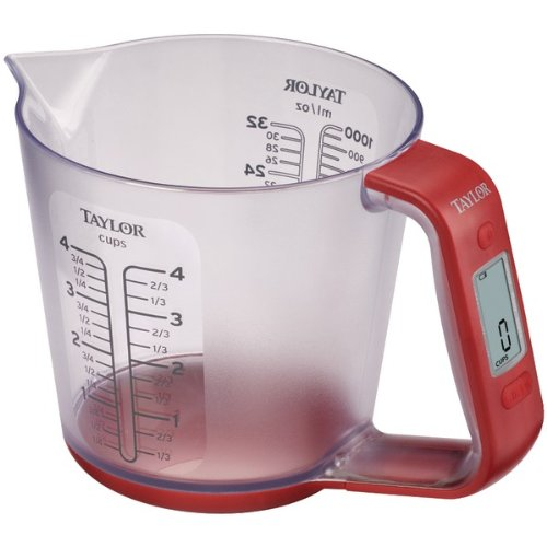 TAYLOR 3890 6.6lb-Capacity Digital Measuring Cup Scale