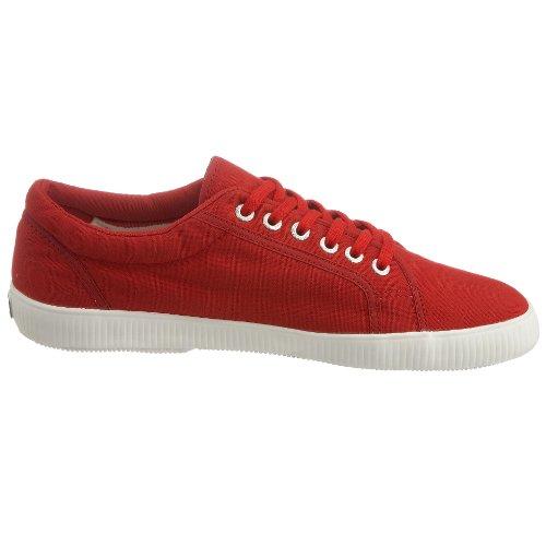 Superga - Zapatillas de deporte de algodón para hombre Rojo