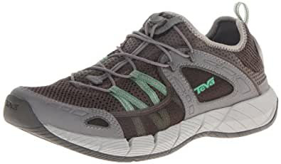 Teva Men's Churn Performance Water Shoe,Grey/Green,9.5 M US