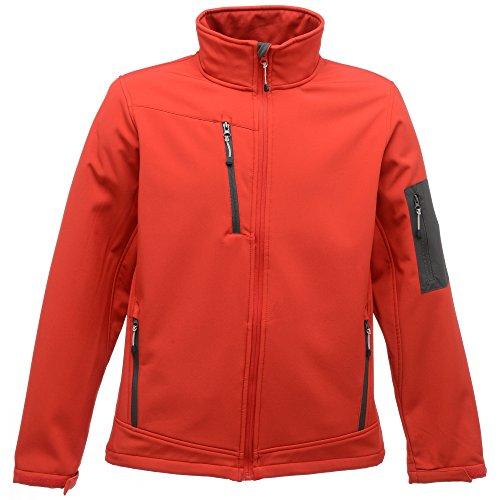 Regatta Womens/Ladies Arcola Waterproof Breathable Soft Shell Jacket Azul francés/gris