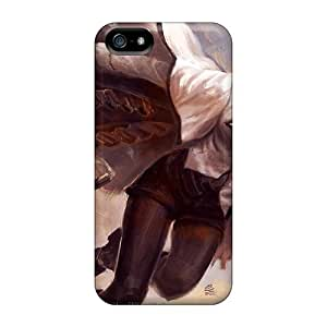 Iphone 5/5s Case Cover - Slim Fit Tpu Protector Shock Absorbent Case (meryl Striffe)