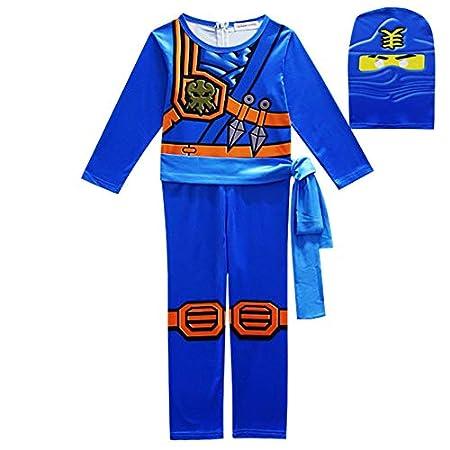 Desconocido Disfraz de Ninjago para niña, el increíble ...