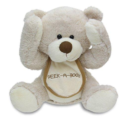 - Cuddle Barn Animated Singing Teddy Bear Plush Toy - Peek a Boo Bear