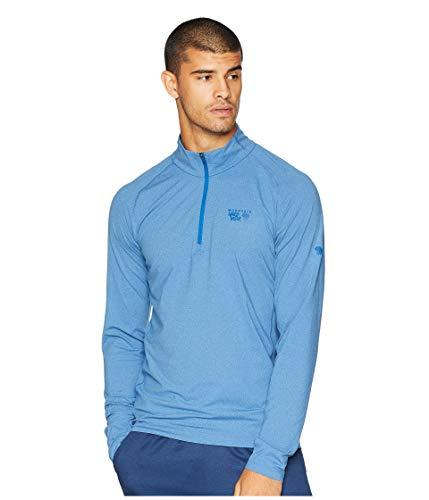 (Mountain Hardwear Men's Butterman¿ 1/2 Zip Heather Nightfall Blue Medium )
