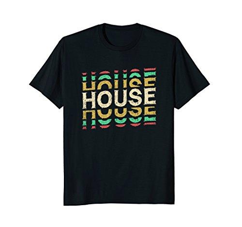 House - Electronic Music TShirt (T-shirts Music Trance)