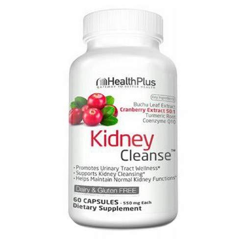 Health Plus Kidney Cleanse, Capsules 90 ea ( Pack of 2)