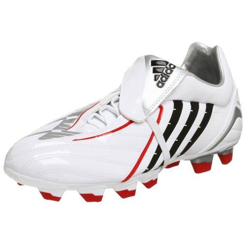 adidas Men's Absolado PS TRX FG Soccer Cleat,White/Black/Silver,12 M - Absolado Trx Fg Soccer Shoe