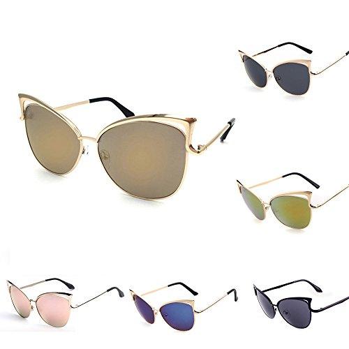 Soleil Lunettes Pièce de Lentille bleu Pour Anti Eyewear 1 Sunenjoy Adolescents Hommes Lunettes Femmes Polarisé de Oeil de Wayfarer chat soleil UV Lunettes pWa4naF