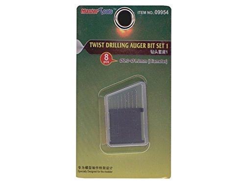 Trumpeter 09954Model Building Tool Twist Drilling Auger bit Set