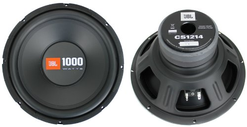 "2) JBL CS1214 12"" 2000W Car Subwoofers Power Subs Audio Woofers 4 Ohm SVC Black"