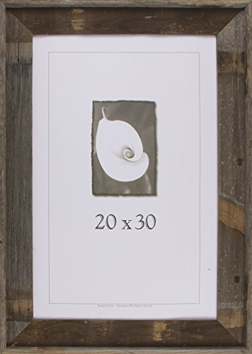 20x30 Picture Frames - Barnwood Frames - Barnwood Signature Series (3 5/8