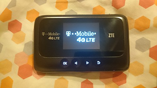 ZTE Z915 4G LTE Mobile Hotspot, (Wireless Mobile Broadband)