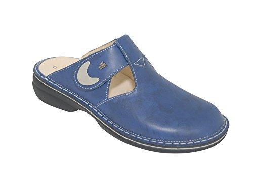 Bluette Blu Zoccoli blu donna Finn 02555243389 Comfort HqTE7Y