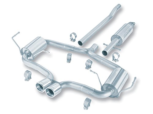 Borla 140119 Cat-Back Aggressive System Exhaust (Cooper System Rear Exhaust)