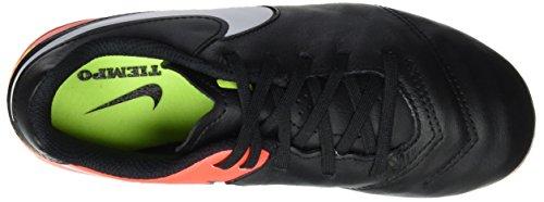 Nike 819186-018, Botas de Fútbol para Niños Negro (Black / White-Hyper Orange-Volt)