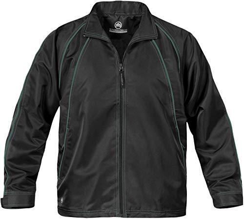 Ladies Blaze Mesh Jacket - Stormtech Women's Blaze Twill Jacket - STXJ-1W, Black/Forest, X-Small