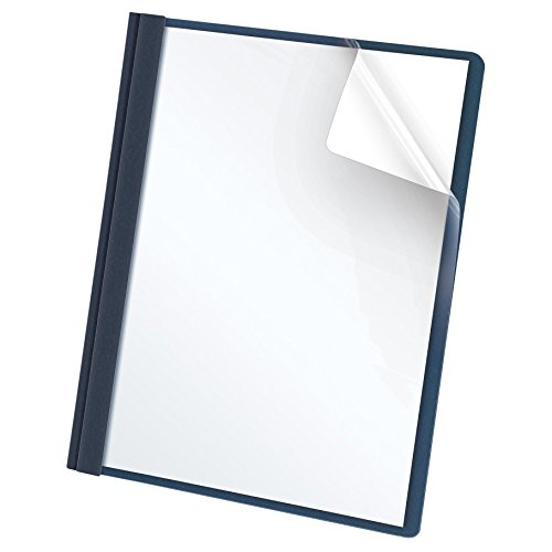 oxford-clear-front-report-covers-letter-size-dark-blue-25-per-box-55838ee