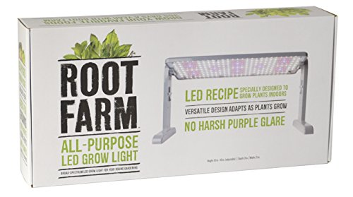 Root Farm 10101-10135-1 All-Purpose LED Grow Light, 45W - Broad Spectrum Grow Lamp, for Indoor Hydroponic Plants, Energy Efficient