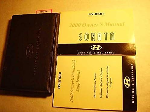 2000 hyundai sonata owners manual hyundai amazon com books rh amazon com Manual Hyundai Sonata Head Light 2000 hyundai sonata owners manual pdf