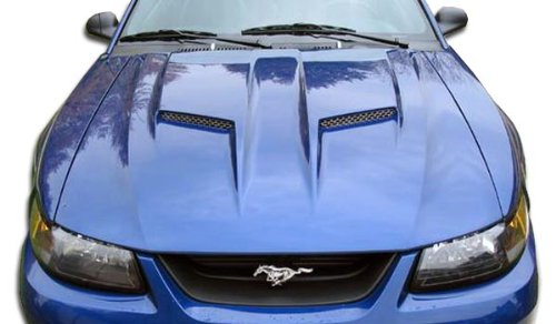 Duraflex ED-KUI-732 Mach 2 Hood - 1 Piece Body Kit - Fits Ford Mustang 1999-2004