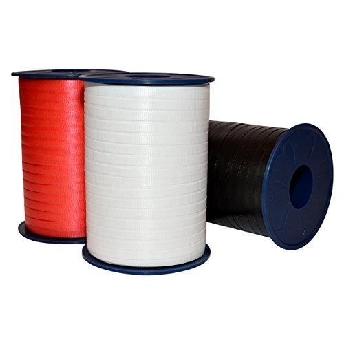 Morex Ribbon Polypropylene Classic Style Collection Poly Curling Ribbon, 3/16-Inch by (Polypropylene Ribbon)