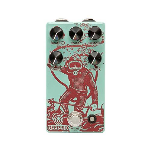 Walrus Audio Deep Six V3 Compressor Guitar Effects Pedal