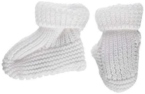 Neck & Neck 17V23901.11 - PATUCOS para bebe, color blanco, talla TU