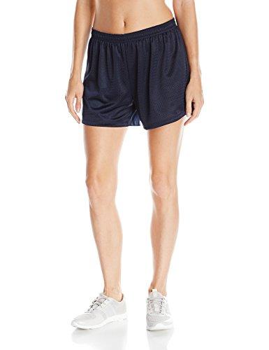 Hanes Women's Sport Mesh Short, Navy, Medium